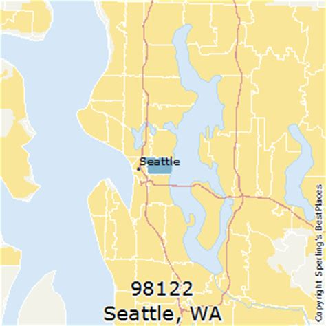 seattle zip code map best places to live in seattle zip 98122 washington
