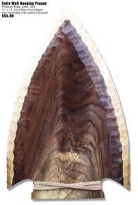 arrowhead plaque template woodenarrowheadshop wooden arrowhead clocks plaques