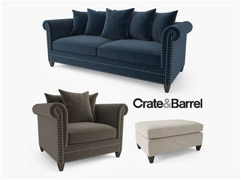 crate and barrel upholstery fabric fabric innerspring this davis full crate and barrel davis