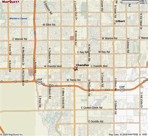 map of chandler arizona map of chandler az and surrounding areas pictures to pin