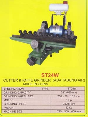 Bearing Pisau Mesin Profil Kayu Kecil Wood Trimmer Router st24w cutter knive grinder products of mesin kayu wood machinery supplier perkakas