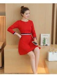 Dress Merah Natal Cantik Terbaru toko baju wanita dress korea cantik dress pesta