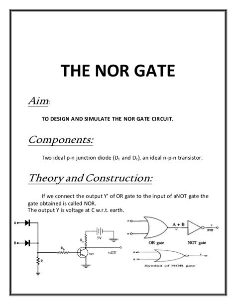 pn junction diode equivalent to which gate pn junction diode equivalent to nand gate 28 images what are p n junction diodes 28 images