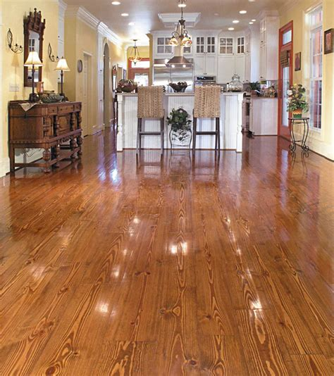 Southern Flooring by Southern Pine Wide Plank Cottage Grade Flooring