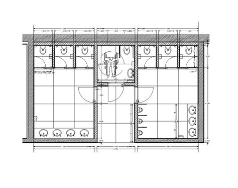 toilet layout dwg offices toilet layout cerca con google disegni