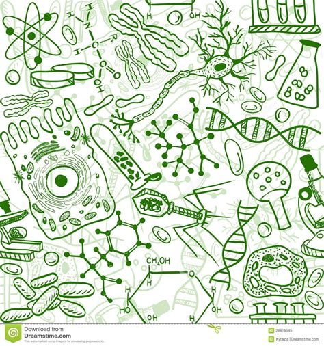 patterns in nature biology topic test biology seamless pattern royalty free stock photo image