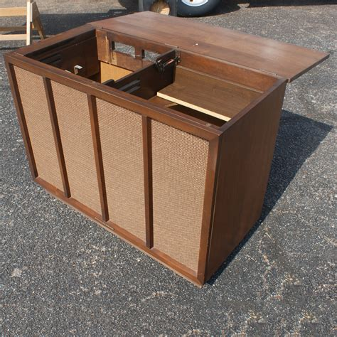 pull up cabinet midcentury retro style modern architectural vintage furniture from metroretro and mcm consignment