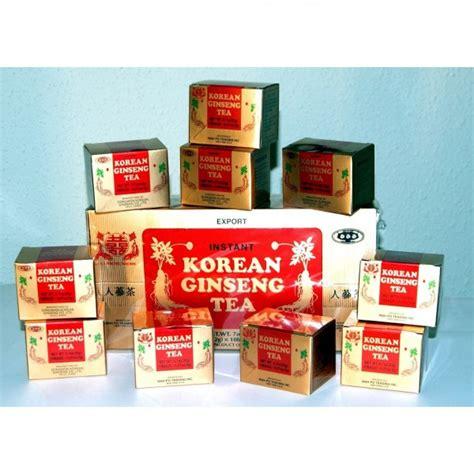 Korean Ginseng Tea korean ginseng tea