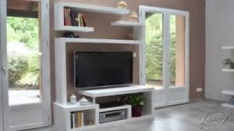fabriquer meuble tv angle artzein