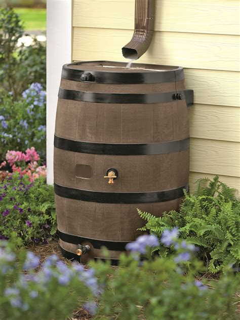 Gardeners Supply Barrel Barrels A Solution For Saving Water Lake Tahoe