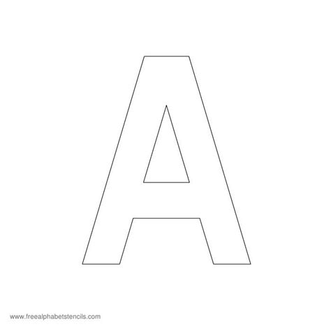 printable letter stencils to cut out search results for cut out alphabet stencils free