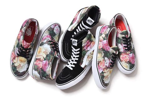 vans flower pattern shoes 30 collaborative vans sneakers