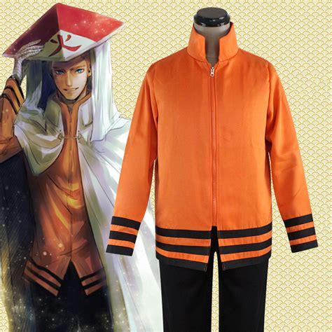 Jaket Jubah Hoodie Anime Hokage Mode popular hokage coat buy cheap hokage coat