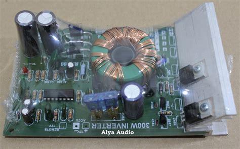 jual multi inverter kit mobil 300w dc 12v to 18 24 32v ct alya audio elektronik