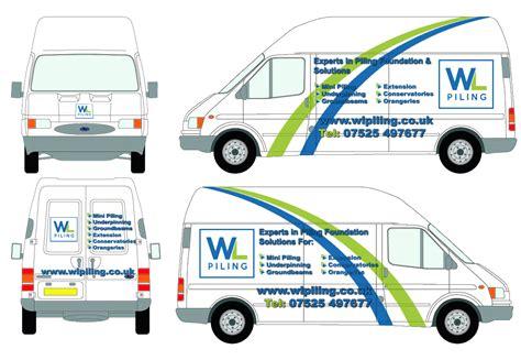 design vans uk wl piling have a new van design wl piling