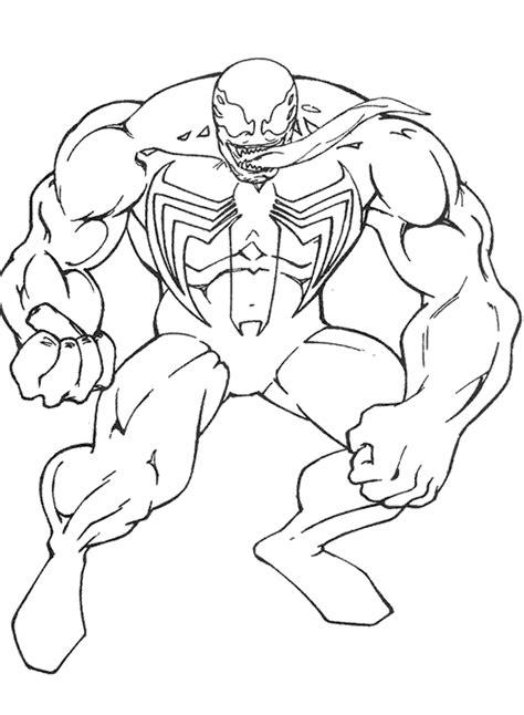 imagenes para pintar spiderman imagenes del hombre ara 241 a y venom para colorear imagui