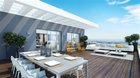 Architectural Designs House Plans by Modern Penthouse Outdoor Space Interior Design Ideas