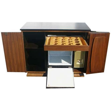 Welcome To Metro Retro Mini Bar Cabinet With Refrigerator