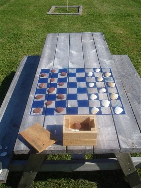 Playeat Boardgame Picknic outdoor chess 25 ideas and inspirations