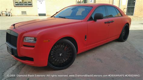 matte rolls royce ghost project rolls royce ghost wrapped in matte by dbx