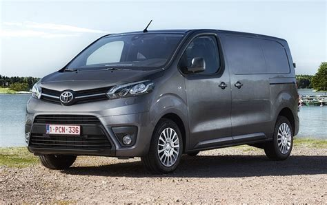 toyota vans toyota proace review business vans