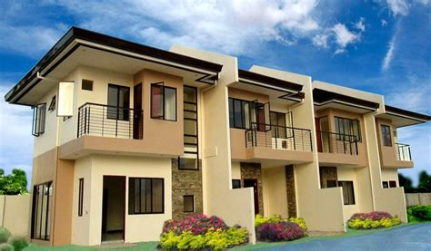 row housing designs modern row house plans home design and style