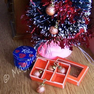 bronze baubles box of baubles bronze coloured