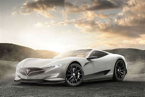 tesla supercar this is the most aggressive looking tesla supercar concept yet