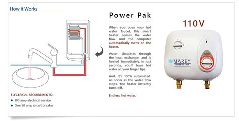 On Demand Water Heater Tankless Water Heater Electric On Demand Instant Water