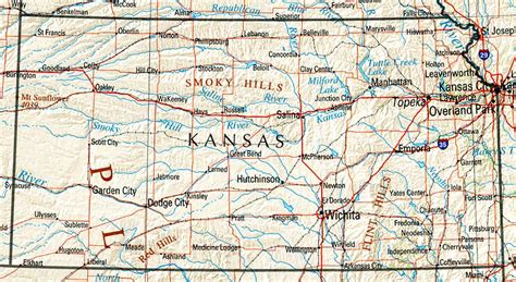Kansas Maps   Perry Castañeda Map Collection   UT Library