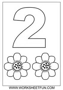 printable for toddlers best 20 preschool number crafts ideas on no