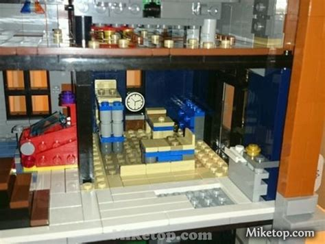lego ghostbusters house lego ghostbusters headquarter modular building miketop