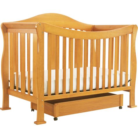 Side Rails For Convertible Crib Davinci 4 In 1 Fixed Side Convertible Crib With Toddler Rail Oak Walmart