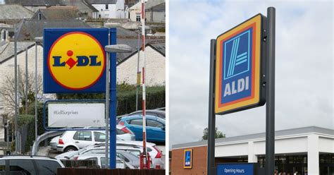 lidl plymouth the ultimate test is aldi or lidl cheaper plymouth herald