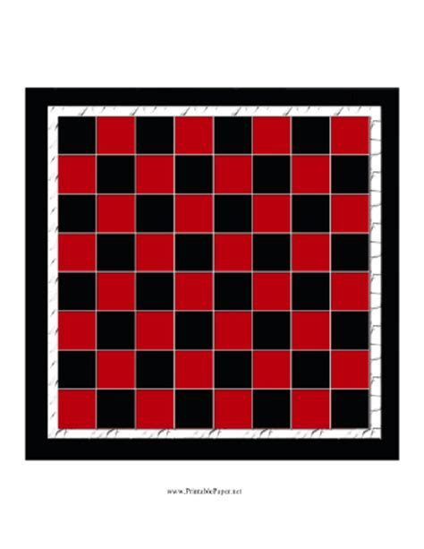 checkers board template printable checkerboard