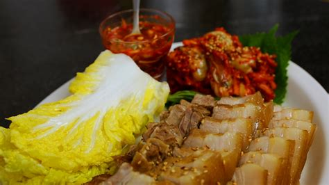 pork wraps bo ssam recipe maangchicom