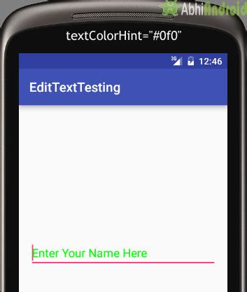android studio edittext tutorial edittext tutorial with exle in android studio input field