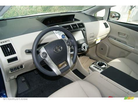 2012 Prius Interior by Bisque Interior 2012 Toyota Prius V Five Hybrid Photo