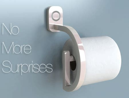 Toilet Paper On Head Invention by 9 Times Crowdfunding Was Like A Japanese Useless