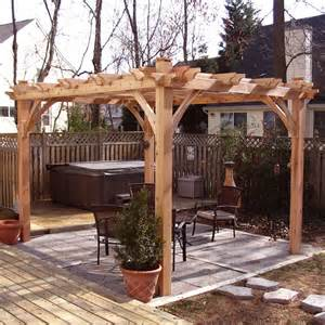 Pergola Outdoor Living by Outdoor Living Today Bz810 8 Ft X 10 Ft Cedar Breeze