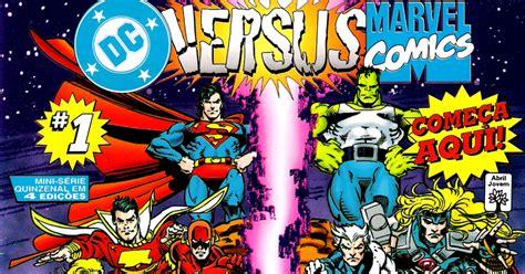 os quadrinhos dc vs marvel o conflito do s 201 culo