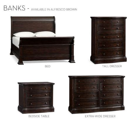 Furniture Banks by Banks Bed Dresser Set Pottery Barn