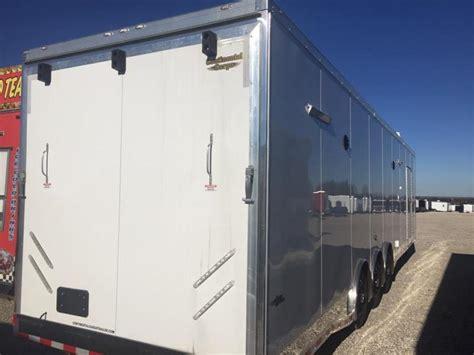 cargo trailer bathroom 44 bathroom continental trailers automaster car racing