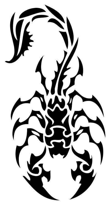 tribal scorpio tattoo 35 tribal scorpion tattoos ideas