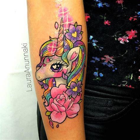 tattoo unicorn japanese rainbowunicorn with extra love i love draw and tattoo