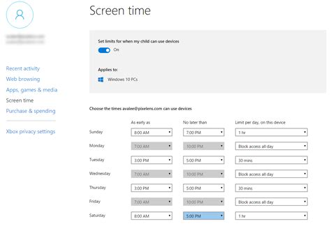the of screen time how your family can balance digital media and real books how to set up and use microsoft family settings with