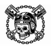 Motocicleta Vintage Logo 4 De Cr&225neo Retro Racing Casco