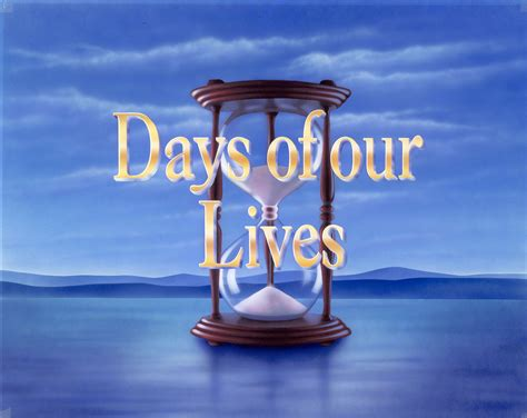 days of our lives logo days of our lives teasers week of august 11 the buzz