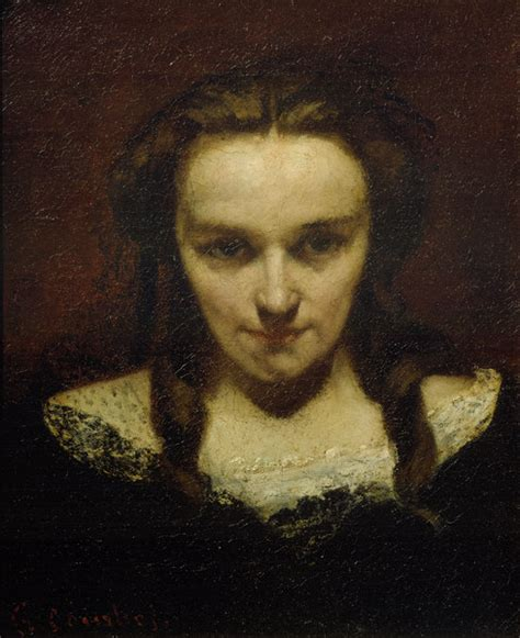 Contemporary Wallpaper by The Somnambulist Gustave Courbet As Art Print Or Hand