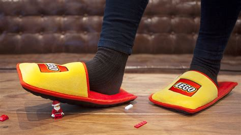 lego slippers for slipper takes the out of stepping on a lego today